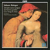 Krieger: Love Songs & Arias, etc / Kobow, United Continuo Ensemble