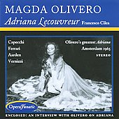Cilea: Adriana Lecouvreur / Ventriglia, Olivero, Ferrari, et al