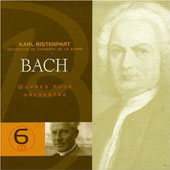 Bach: Oeuvres pour Orchestre [Box Set]