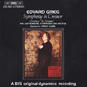Grieg: Symphony in c, In Autumn / Kamu, Gothenburg Sym Orch