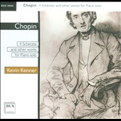 Chopin: 4 Scherzos and Other Works for Piano Solo