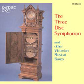 The Three Disc Symphonion & Other Victorian Musical Boxes