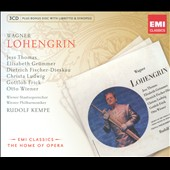 Wagner: Lohengrin / Kempe, Fischer-Dieskau [Includes CD-ROM]