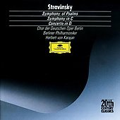 Stravinsky: Symphony of Psalms, Symphony in C, Concerto in D