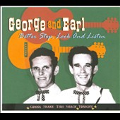 Earl Aycock/George & Earl/George McCormick: Better Stop, Look and Listen: Gonna Shake This Shack Tonight [Digipak]