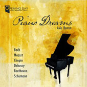 Piano Dreams: works by Bach, Mozart, Chopin, Debussy, Beethoven, et al. / Avia Romm, piano