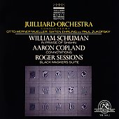Juilliard Orchestra - Schumann, Copland, Sessions