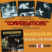 Louie Bellson/Buddy Rich: Conversations/Repercussion