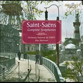 Saint-Saens: Complete Symphonies / Bernard Gavoty, organ; Martinon