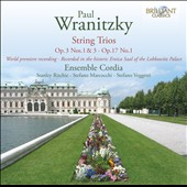Paul Wranitzky: String Trios / Ensemble Cordia