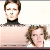 Weil, Pfitzner, Barber: Sonatas for cello & piano / Quirine Viersen: cello; Silke Avenhaus: piano