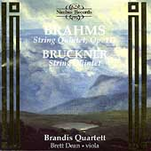 Brahms, Bruckner: String Quintets / Dean, Brandis Quartet