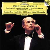 Boulez conducts Webern III / Berliner Philharmoniker