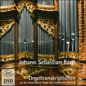 Organ Transcriptions of J.S. Bach / Martin Schmeding, organ