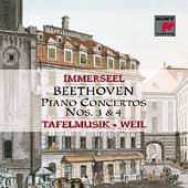 Beethoven: Piano Concertos no 3 & 4 / Immerseel, Weil
