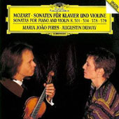 Mozart: Sonatas for Piano & Violin [SHM]