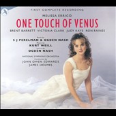 Melissa Errico: One Touch of Venus / Brent Barrett, Victoria Clark, Judy Kaye, Ron Raines. National SO