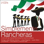 Various Artists: Simplemente Rancheras [Sony]