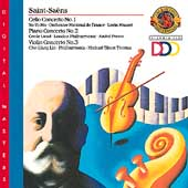 Saint-Saens: Concertos / Ma, Licad, Lin, Maazel, Previn
