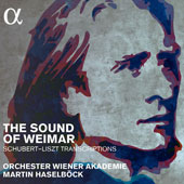 The Sound of Weimar: Schubert-Liszt Transcriptions; original Liszt works / Gottlieb Wallisch, fortepiano