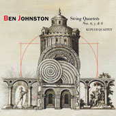 Ben Johnston (b. 1926): String Quartets Nos. 6, 7, & 8; Quietness / Ben Johnston, voice; Kepler Quartet