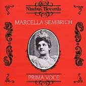 Prima Voce - Marcella Sembrich
