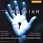 Handel: Messiah / Hickox, Terfel, Langridge, Rodgers, et al