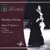 Recitals - Marilyn Horne Vol 1