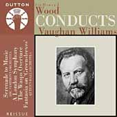 Vaughan Williams: Serenade to Music, etc / Wood, BBC SO