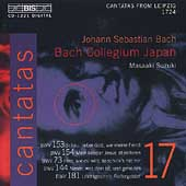 Bach: Cantatas vol 17 / Suzuki, Blaze, Turk, Nonoshita, etc
