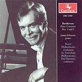 Beethoven: Piano Concertos no 1 and 3 / James Johnson