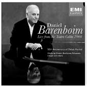Daniel Barenboim Live from the Teatro Col&#243;n - 2000