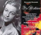 Wagner: Die Walk&uuml;re / Denzler, Werthe, Ralf, Alsen, Hofmann