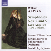 Alwyn: Symphony no 2 & 5 / Lloyd-Jones, Willison, et al