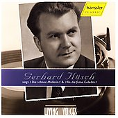 Living Voices - Gerhard H&uuml;sch sings Schubert & Beethoven