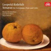 Leopold Kozeluh: Sonatas for piano, flute & cello / Monika Knoblochova, Jana Semeradova, Hana Flekova