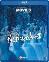 Lincoln Center at the Movies presents George Balanchine's The Nutcracker with the original music by Tchaikovsky and a special, 'Behind the Stage' bonus / New York City Ballet [Blu-ray]