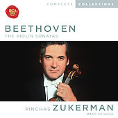 Beethoven: The Violin Sonatas / Zukerman, Neikrug