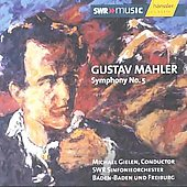 Mahler: Symphony no 5 / Gielen, et al