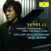 Prokofiev: Piano Concerto no 2;  Ravel / Li, Ozawa, et al