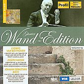 G&uuml;nter Wand Edition Vol 19 - Beethoven, Haydn, Bach / Wand, Casadesus, Greutter, et al