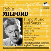 Milford: Piano Music & Songs / Bannister, Terroni