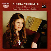 Schubert, Chopin, Liszt, Grieg, Rachmaninov, Balakirev / Maria Verbaite