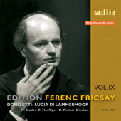 Edition Ferenc Fricsay Vol 9 - Donizetti: Lucia di Lammermoor
