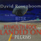 Rosenboom: How much better if Plymouth Rock had landed on the pilgrims / Golia, et al