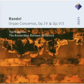 Handel: Organ Concertos, Opp. 4 & 7