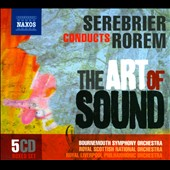 José Serebrier conducts Ned Rorem