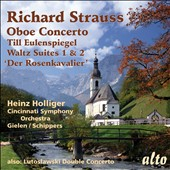 Richard Strauss: Oboe Concerto; Till Eulenspiegel / Schippers, Holliger, oboe