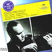 Bach, Brahms, Tchaikovsky: Violin Concertos / David Oistrach