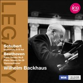 Schubert: Impromptu; Beethoven: Sonatas / Wilhelm Backhaus